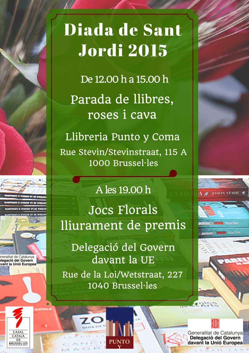 Actes per Sant Jordi 2015 CCB