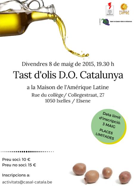 Tast d'olis D.O. Catalunya
