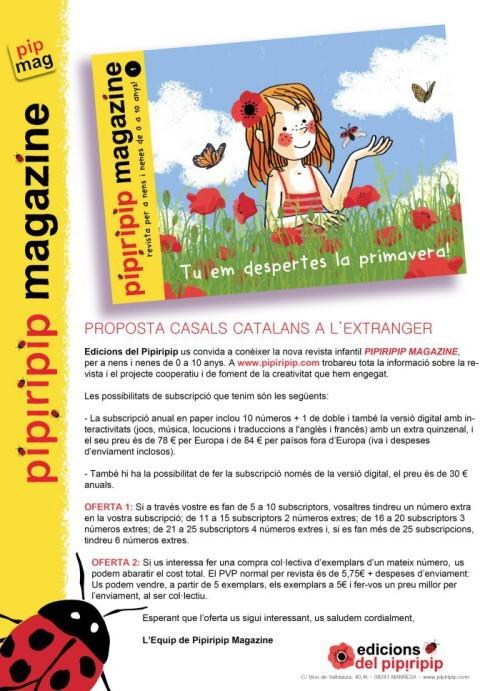 PIPIRIPIP - oferta de subscripció