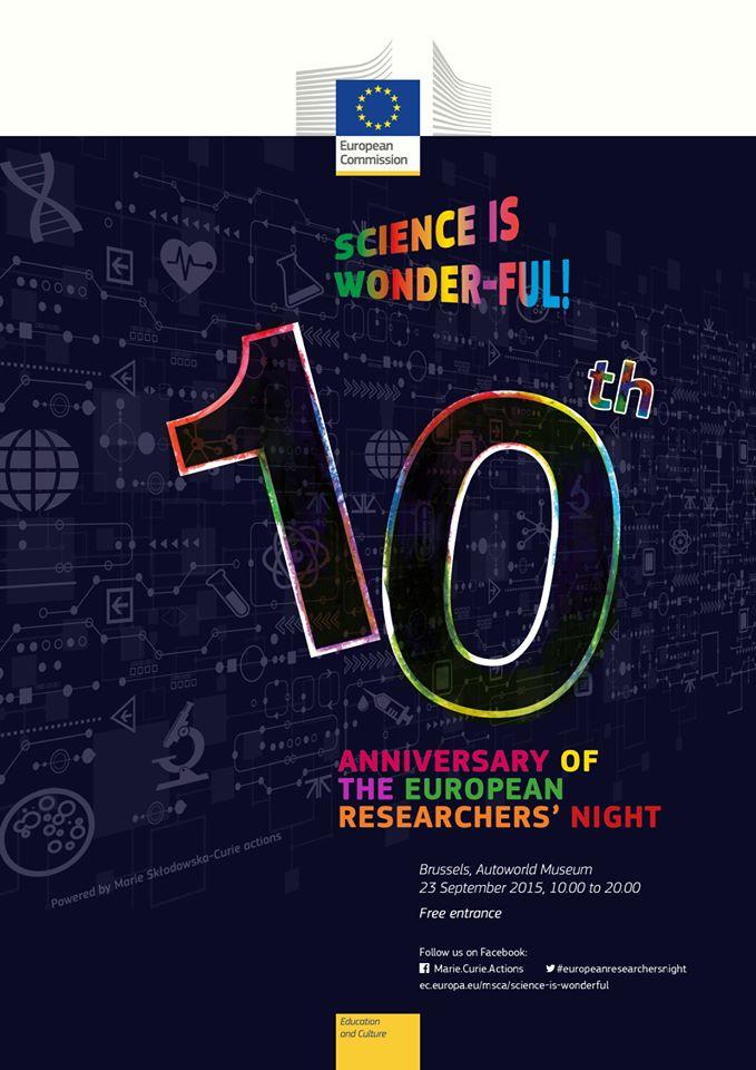 cartell 10 aniversari nit dels investigadors